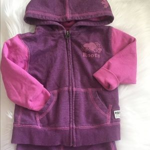 Roots Athletics Baby Roots Hoodie Joggers 18-24m